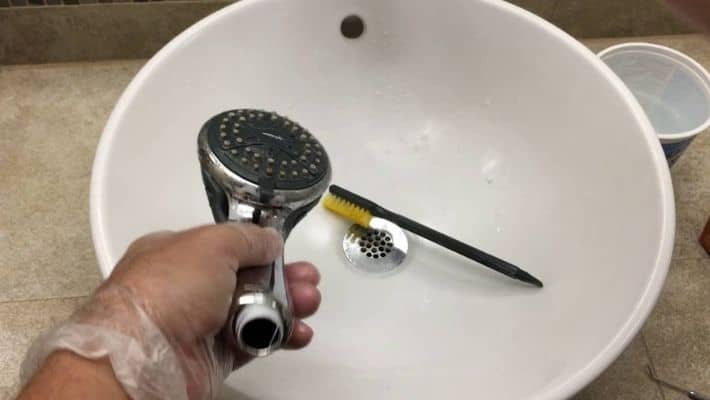 How To Clean A Moen Shower Head?