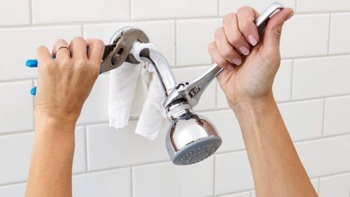 Where Is The Flow Restrictor On Shower Head?